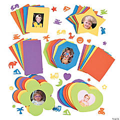 Sensational Foam Picture Frames & Shapes
