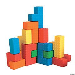 Sensory Puzzle Blocks Set Of 18 Pieces