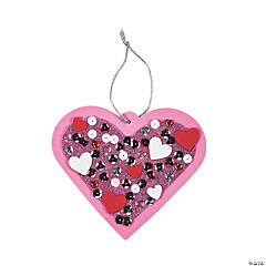 Sequin Valentine Ornament Craft Kit