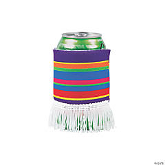 Serape Poncho Can Covers