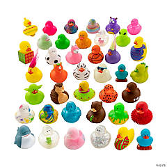 Series 3: Mega Value Rubber Ducky Assortment - 600 Pcs.