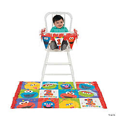 Sesame Street® Elmo Turns One High Chair Kit