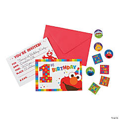 Sesame Street® Elmo Turns One Invites