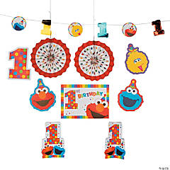 Sesame Street® Elmo Turns One Room Decorating Kit