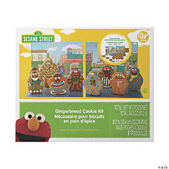 Sesame Street Gingerbread Cookie Decorating Kit