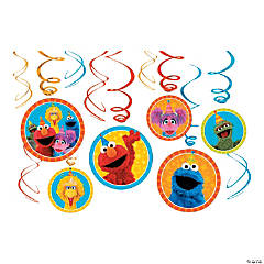Sesame Street® Swirl Decorations