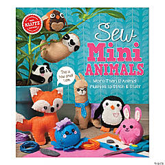 Sew Mini Animals Book Kit