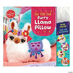 Sew Your Own Furry Llama Pillow Book Kit