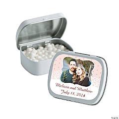 Shabby Chic Custom Photo Mint Tins