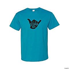 Shaka Adult's T-Shirt - Medium