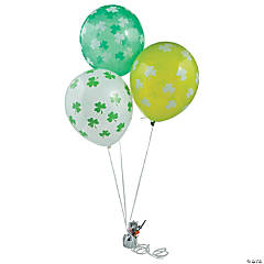 "Shamrock 11"" Latex Balloons"