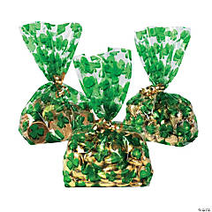 Shamrock Cellophane Bags