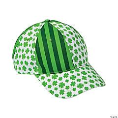 Shamrock Print Baseball Caps