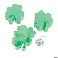 Shamrock-Shaped Favor Containers