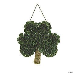 Shamrock-Shaped Wreath