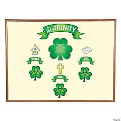 Shamrock Trinity Mini Bulletin Board Set