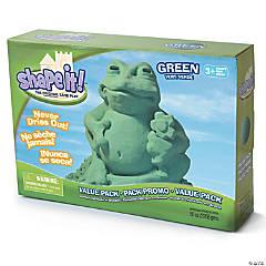 Shape It! - Green Sand, 5lb box