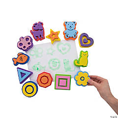 Shapes & Animal Stamps