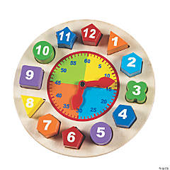 Shapes & Time Puzzle