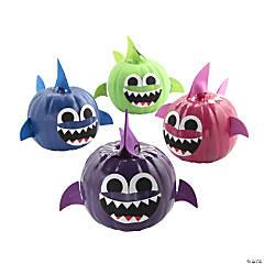 Shark Pumpkin Decorating Craft Kit