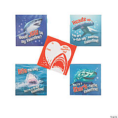 Shark Valentine's Day Sticker Sheets