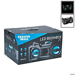 Sharper Image® LED Wireless Boombox