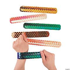 Shimmer Mermaid Slap Bracelets