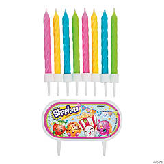 Shopkins™ Cake Decoration with Candles