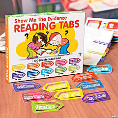 Show Me The Evidence Reading Tabs