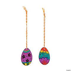 Shrink Plastic Easter Egg Ornament Craft Kit