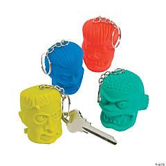 Shrunken Head Keychains PDQ
