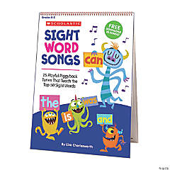 Sight Word Songs Flip Chart & CD