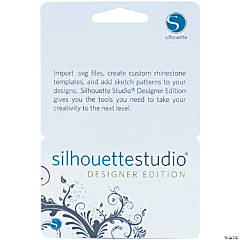 Silhouette of America Studio Designer Edition Upgrade Card