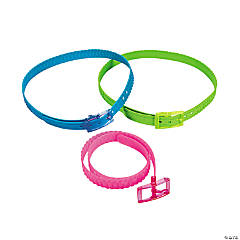 Silicone Neon Belts