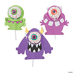 Silly Monster Lollipop Craft Kit