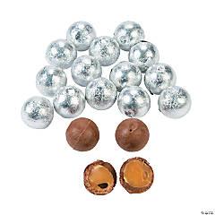 Silver Caramel Chocolate Balls