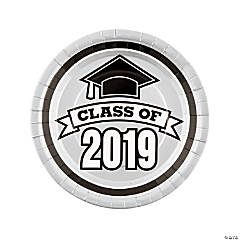 Silver Class of 2019 Dinner Plates
