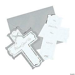 Silver Cross Invitations