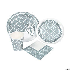 Silver Cross Tableware Kit for 24 Guests