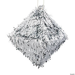 Silver Diamond Piñata
