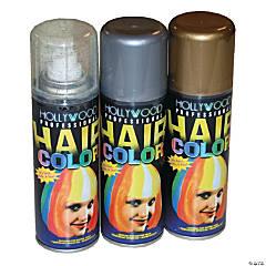 Silver Glitter Hairspray