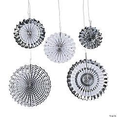 Silver Hanging Fan Assortment