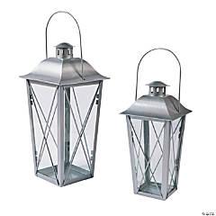 Silver Metal Lanterns