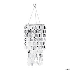 Silver Reflective Hanging Chandelier