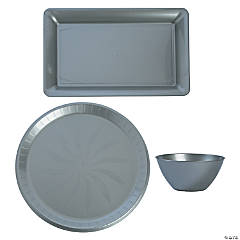 Silver Serveware Set