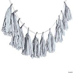 Silver Tassel Garland