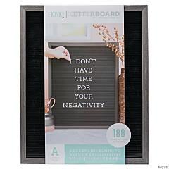 """Silver Walnut Letter Board Kit - 20"""""""