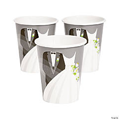 Silver Wedding Cups