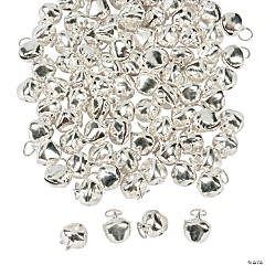Silvertone Bell Charms