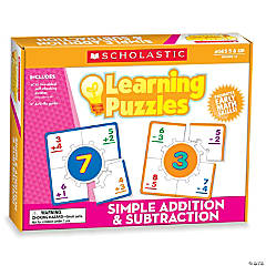 Simple Addition & Subtraction Learning Puzzles